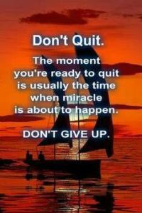 Don t Quit Don t Give Up