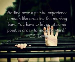 Getting Over Painful Exp Monkey Bars CS Lewis