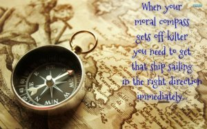 moral compass