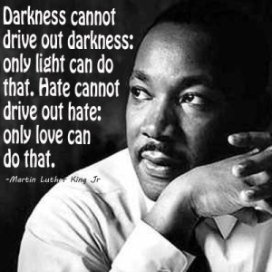 ML King Darkness Hate Love