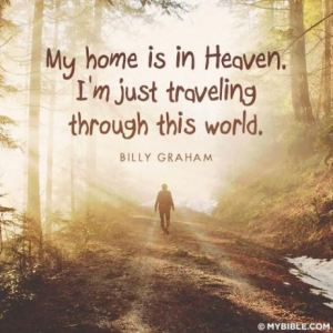 my home is in Heaven Billy Graham