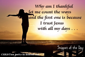 Thankful count the ways