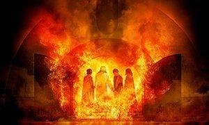 Shadrach Meshach Abednego fire