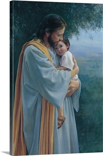 Jesus -tender-care